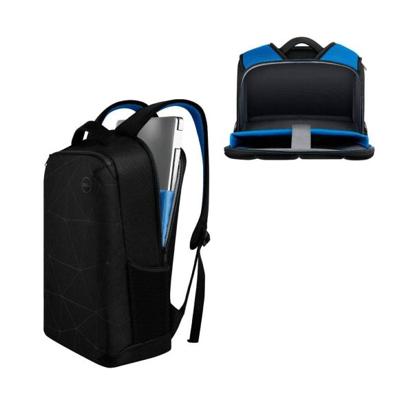 Dell Essential Backpack Black, Blue Accents
