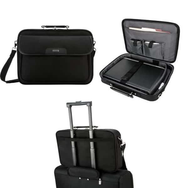 Targus Clamshell Classic Briefcase Black